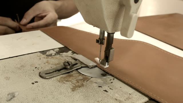 The sewing machine video