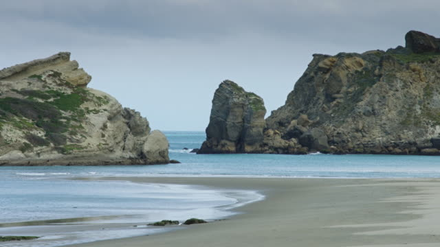 The Sheltered Lagoon at Castlepoint, New Zealand video