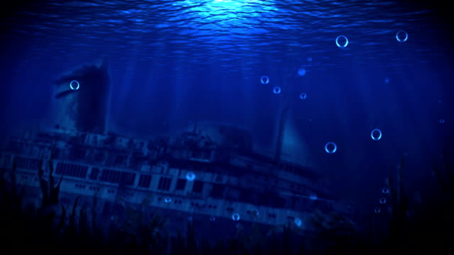 The ship on the seabed video