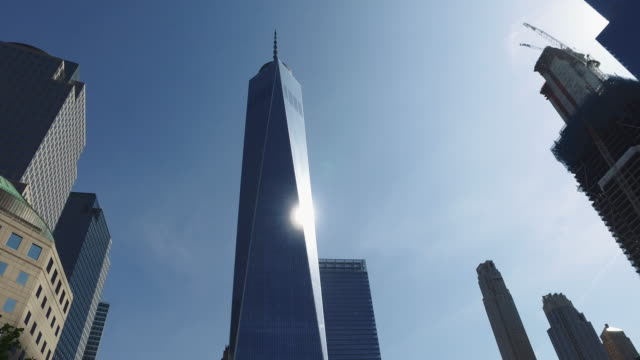 The skyscrapers of NY city: One World Trade Center video
