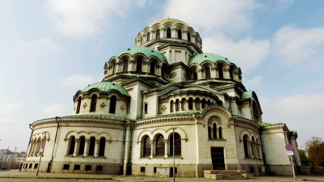 The St. Alexander Nevsky Cathedral in Sofia, the capital of Bulgaria video