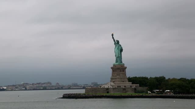 The Statue Of Liberty, New York City, United States