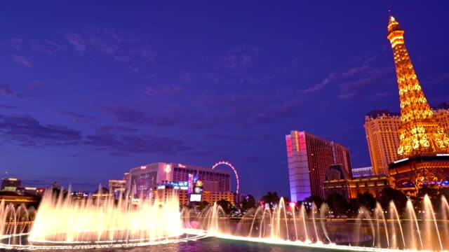 The Strip and fountain video