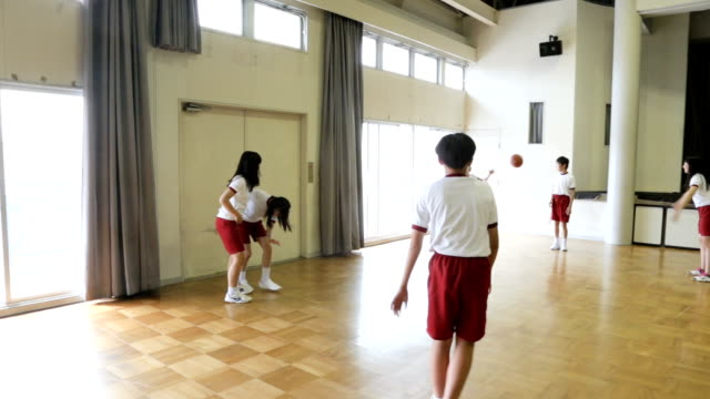 The student who begins a basketball game The student who begins a basketball game pre game stock videos & royalty-free footage