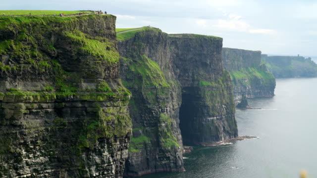 The stunning Moher cliffs in  Ireland video