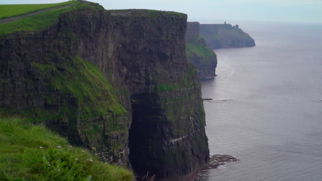 The stunning scenery in Moher Cliffs  Ireland video