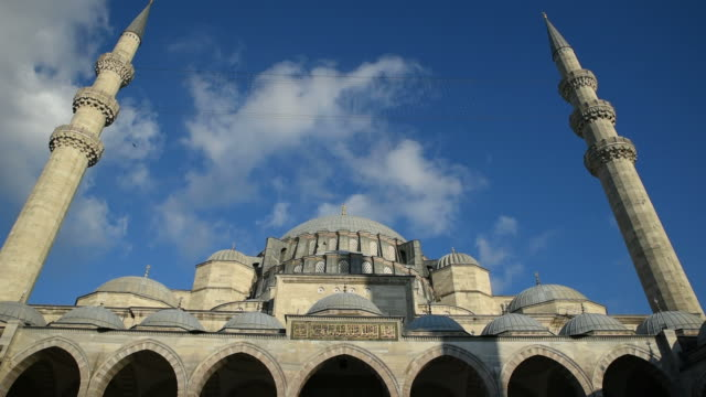 The Suleymaniye Mosque at Istanbul video