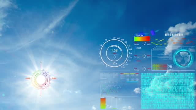 太陽電池ホログラムを持つ太陽。 - オルタナティブカルチャー点の映像素材/bロール
