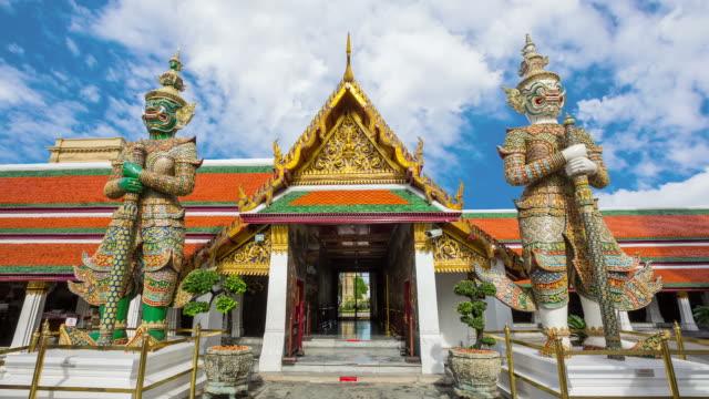 The Temple of Emerald Buddha in Bangkok video