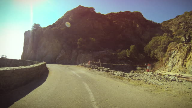 The terrible roads of Corsica video