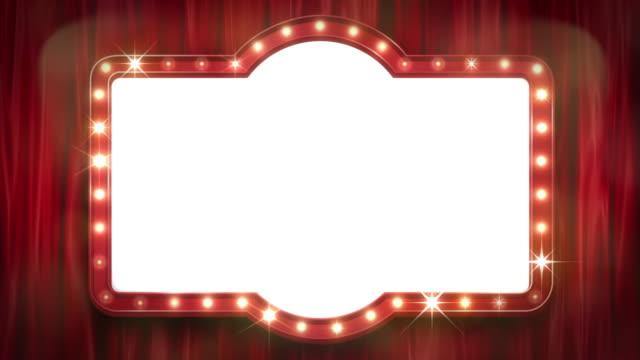 stockvideo's en b-roll-footage met het theaterteken en het gordijn[loop] - aankondigingsbericht