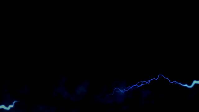 vídeos y material grabado en eventos de stock de los truenos de izquierda a derecha. - descarga eléctrica