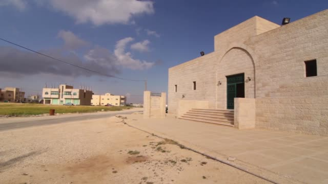 The Tomb Of Muslim Commanders In Mutah Stock Video