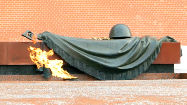 The Tomb of the Unknown Soldier, Moscow video