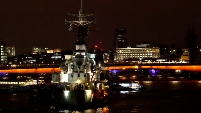 The top of one of the towers in London bridge video