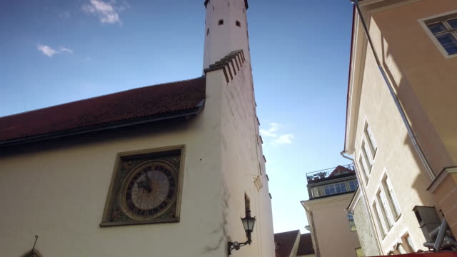 The tower of Church of the Holy Ghost, Tallinn video