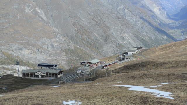 The train in swiss alps , Switzerland video