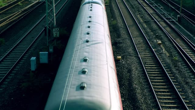 The Train Station Railway The Train Station Railway railroad track stock videos & royalty-free footage