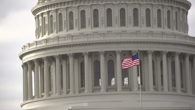 The United States Capital Building in Washington DC video