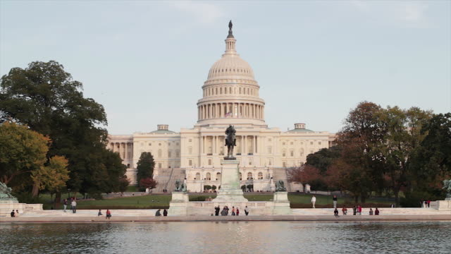 The United States Capitol, Congress in Washington DC video