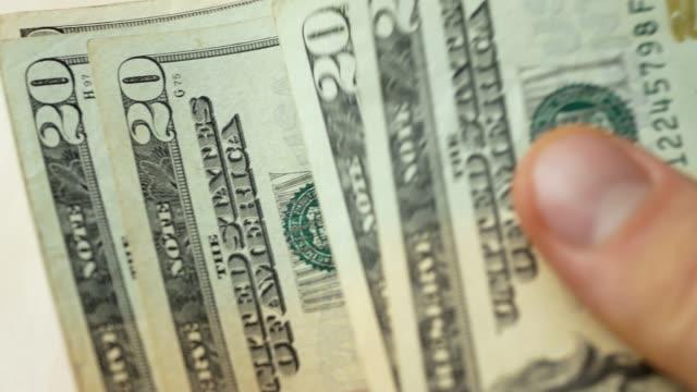 usa: s femtio-dollarsedeln - lön bildbanksvideor och videomaterial från bakom kulisserna