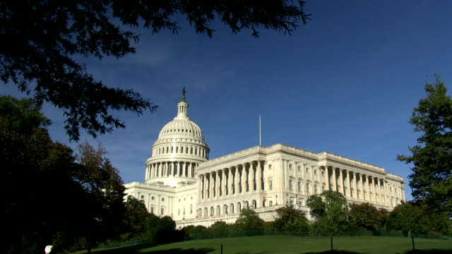 The US Capitol in Washington, DC video