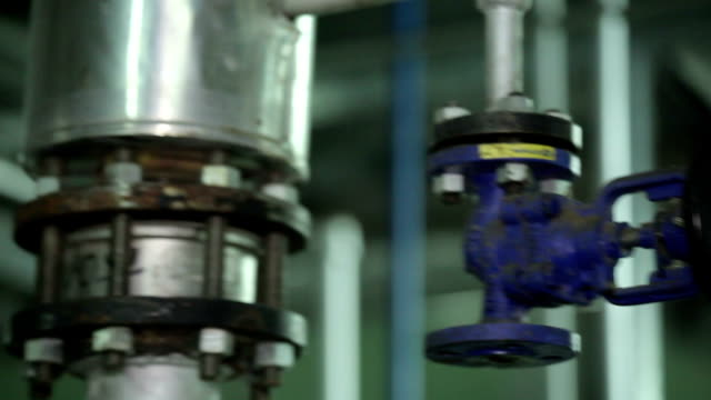 The Valve in Manufacturing in The Workshop. video