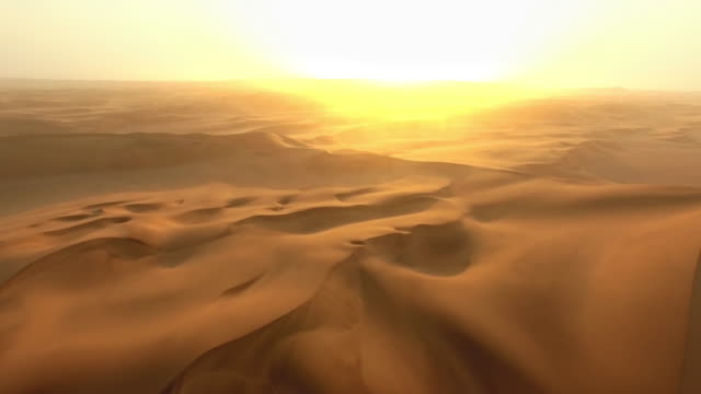 The vastness of the desert video