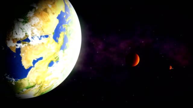 widok z kosmosu - io księżyc filmów i materiałów b-roll