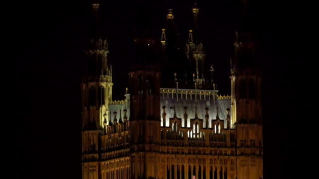 the view of the westminster abbey during night time - gothic fashion stock videos and b-roll footage