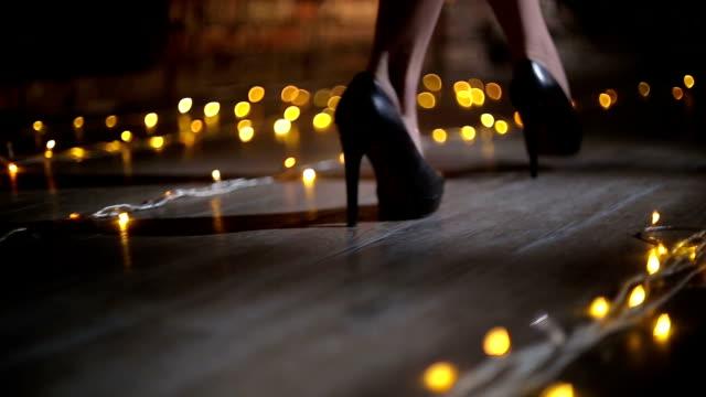 the walk - high heels stock videos & royalty-free footage