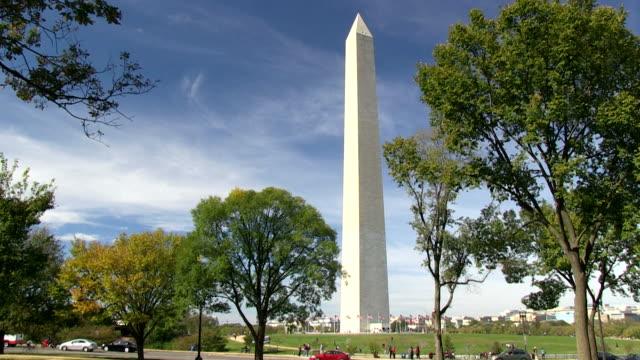 The Washington Monument - time lapse video