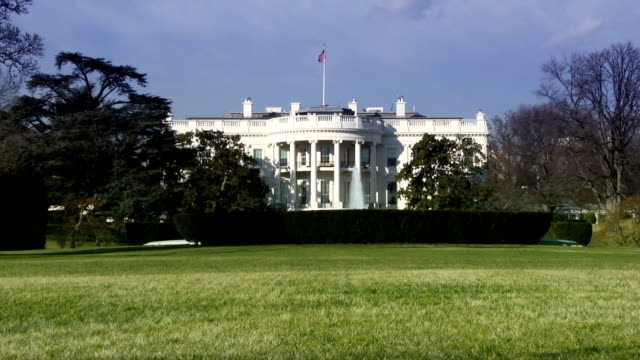 the white house, washington dc - white house 個影片檔及 b 捲影像