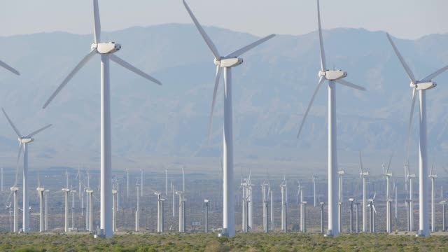 The windmills of Palm Springs in California