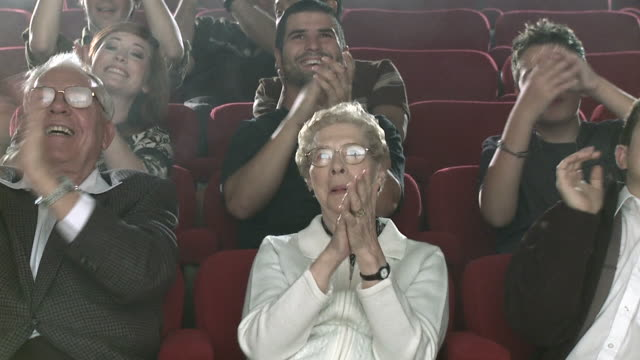 Theater Audience Slo Mo video