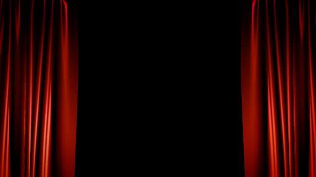 Theater Curtains - HD + Alpha channel video
