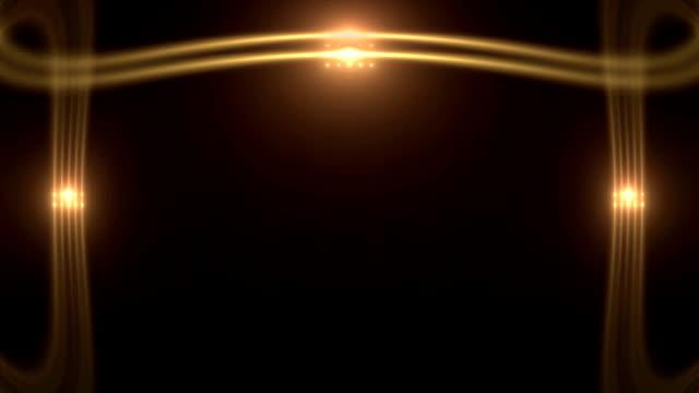 Theater Golden Lights video
