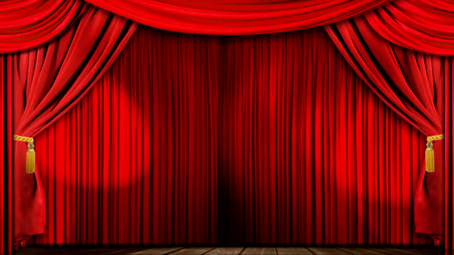 theatre curtains fabric video