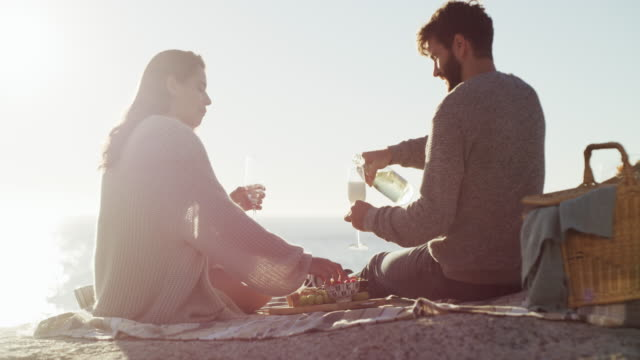 there are few things more romantic than a picnic - picnic video stock e b–roll