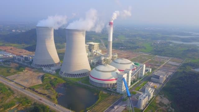 thermal power plant - уголь стоковые видео и кадры b-roll
