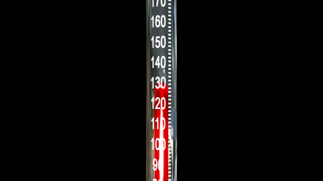 stockvideo's en b-roll-footage met thermometer heating up and exploding. hd 1080. - thermometer