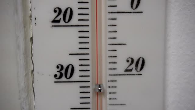 Thermometer, Temperature Rising Around 20 Degree. video