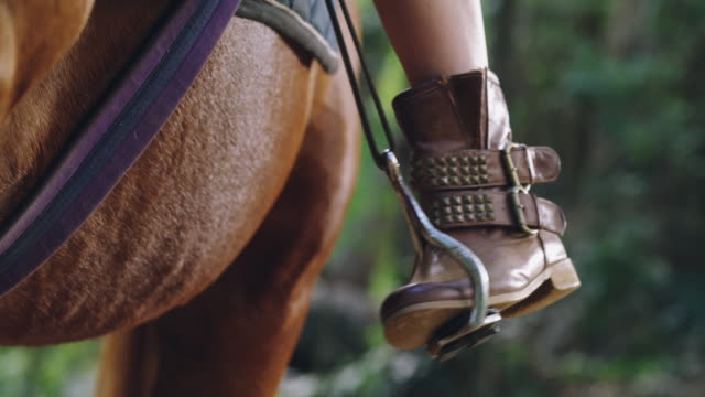 These boots were made for riding