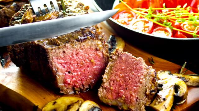 Thick Juicy Steak video