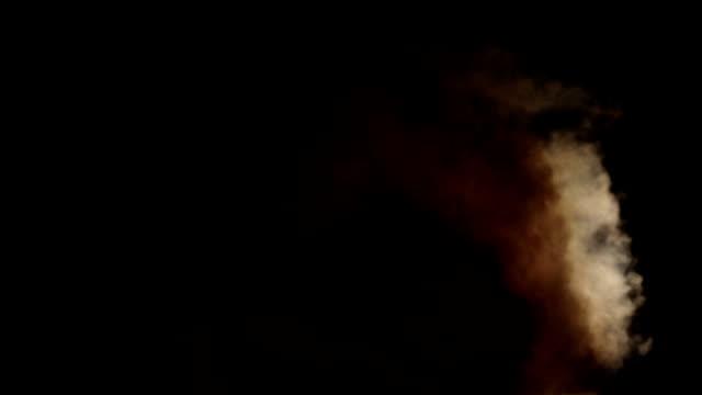 Thick Slow Moving Turbulent Smoke