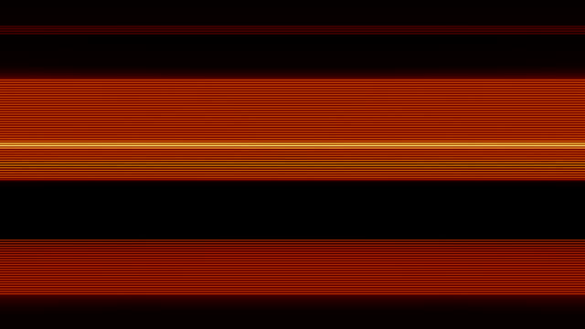 Thin Scan Lines Orange video