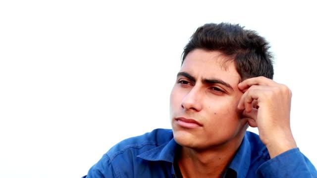 Thinking Men Portrait video