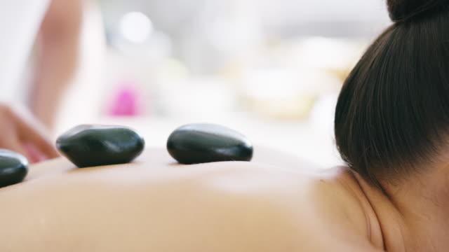 thinking of treating yourself? - terapia lastone filmów i materiałów b-roll