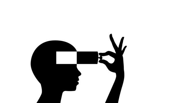 denken - drive illustration stock-videos und b-roll-filmmaterial