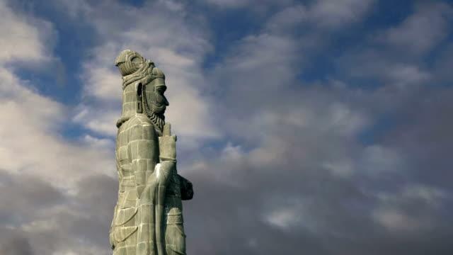 Thiruvalluvar statue, Kanyakumari, Tamilnadu, India video